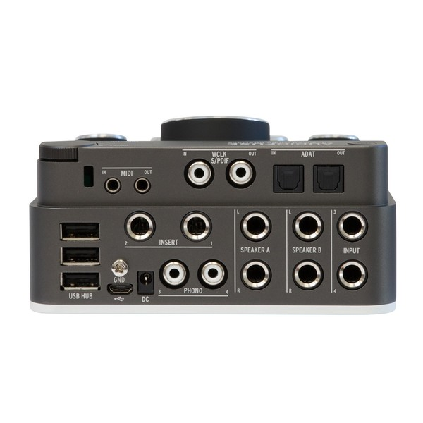 Arturia AudioFuse USB Interface for Mac, PC and iOS, Space Grey - Back