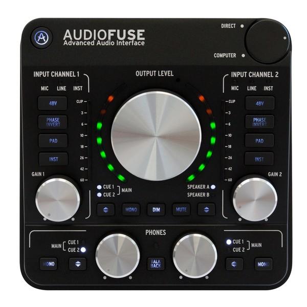 Arturia AudioFuse USB Interface for Mac, PC and iOS, Deep Black - Main