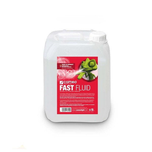 Cameo Fast Fluid For Fog Machines, 5L