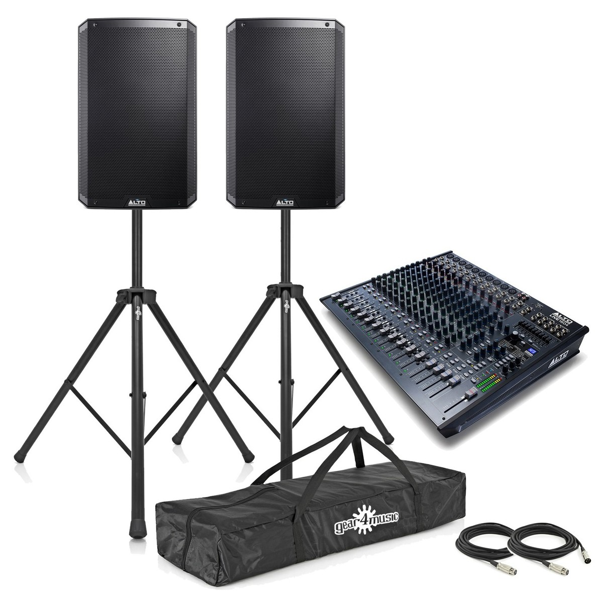 Alto TS315 Live PA Mixer Bundle