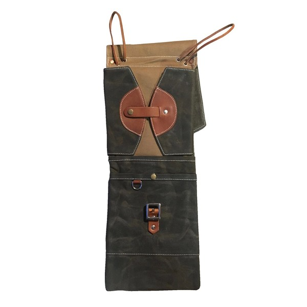 tackle instrument supply co waxed canvas stick bag forest green gear4music. Black Bedroom Furniture Sets. Home Design Ideas