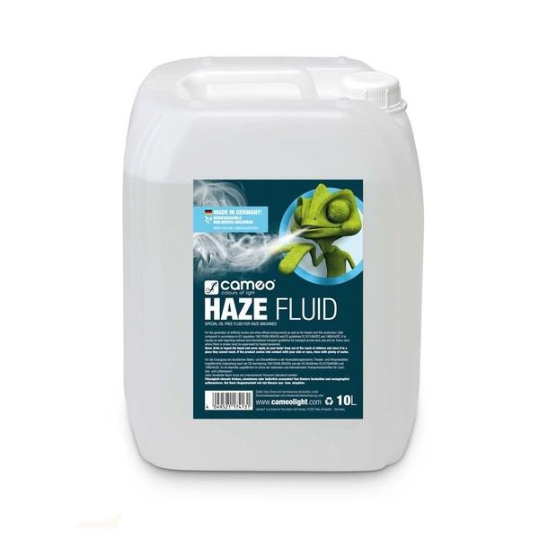 Cameo Haze Fluid For Haze Machines, 10L