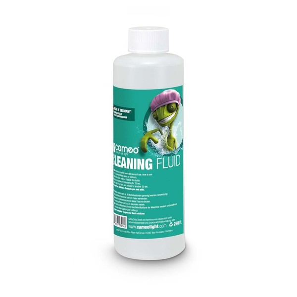 Cameo Cleaning Fluid For Fog Machines 250ml