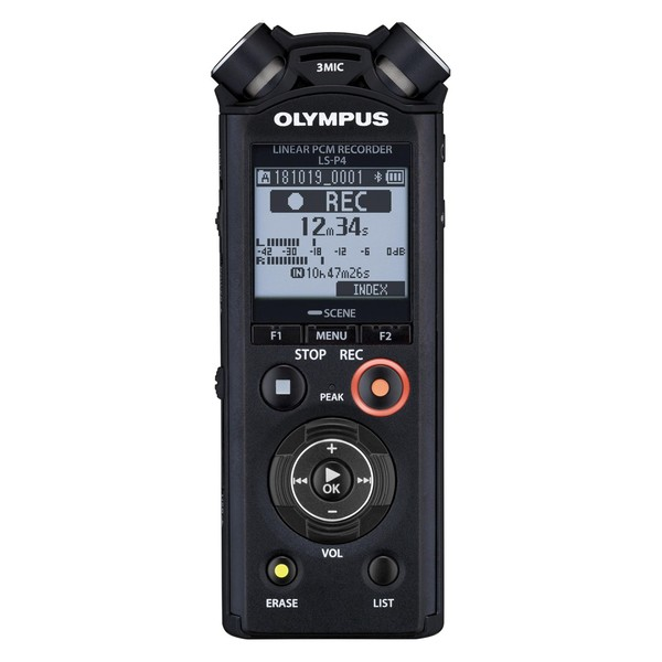 Olympus LS-P4 Hi-Res Audio Recorder - Main