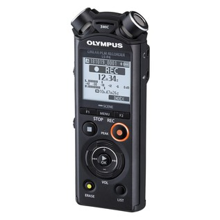 Olympus LS-P4 Hi-Res Audio Recorder - Angle Left