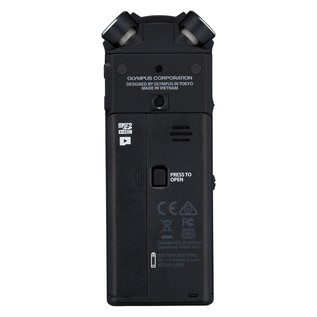 Olympus LS-P4 Hi-Res Audio Recorder - Back