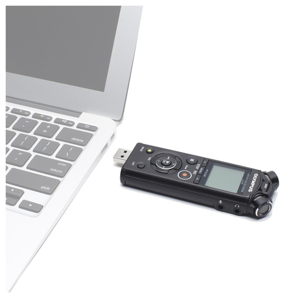 Olympus LS-P4 Hi-Res Audio Recorder - Direct USB (laptop not included)