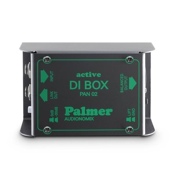 Palmer Pro Pan 02 Active DI Box, Top