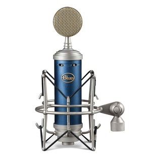 Blue Bluebird SL Condenser Microphone - Front with Mount