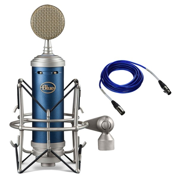 Blue Bluebird SL Condenser Microphone With Free Dual Mic Cable - Main