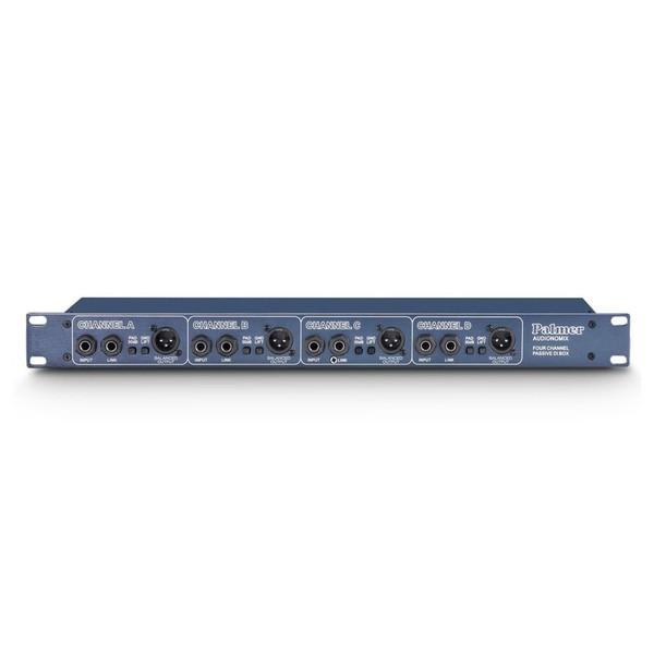 Palmer Pan 03 4 Channel Passive DI Box, Front