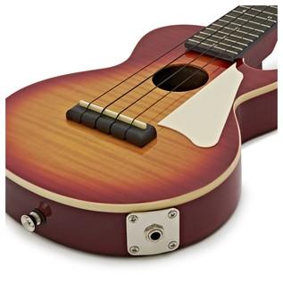 Epiphone Les Paul Electro Acoustic Ukulele, Heritage Cherry Sunburst