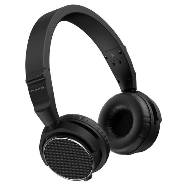 Pioneer DJ HDJ-S7 Professional DJ Headphones, Black - Angled