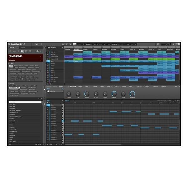 Native Instruments Maschine MK3 - Browser