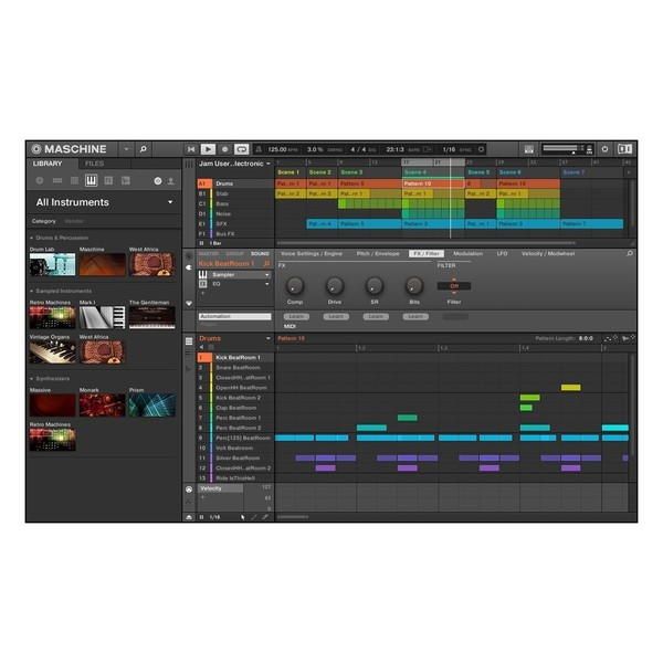 Native Instruments Maschine Jam - Browser