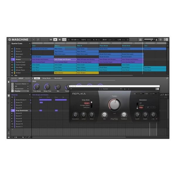 Native Instruments Maschine Jam - Screenshot