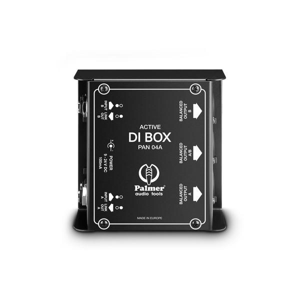 Palmer Pan 04 2 Channel Active DI Box, Top