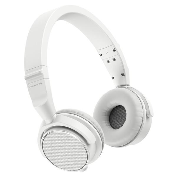 Pioneer DJ HDJ-S7 Professional DJ Headphones, White - Angled
