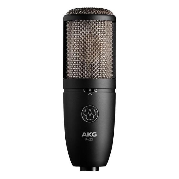 AKG Perception P420 Large Diaphragm Mic - Front