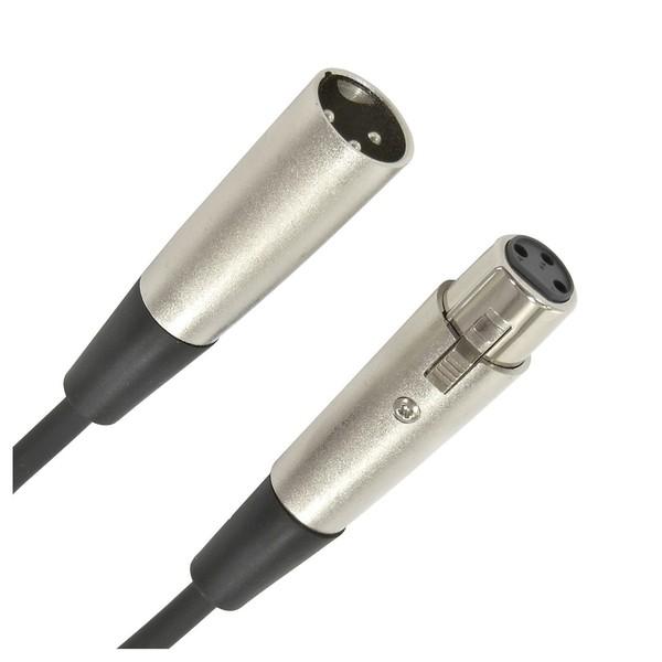 XLR (F) - XLR (M) Microphone Cable, 6m - Connectors