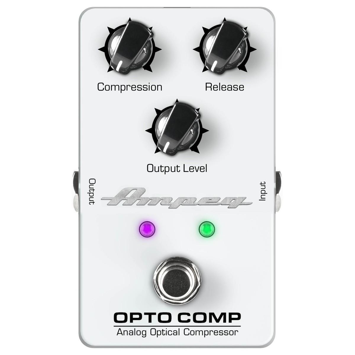 Ampeg Opto Comp Analogue Bass Compressor