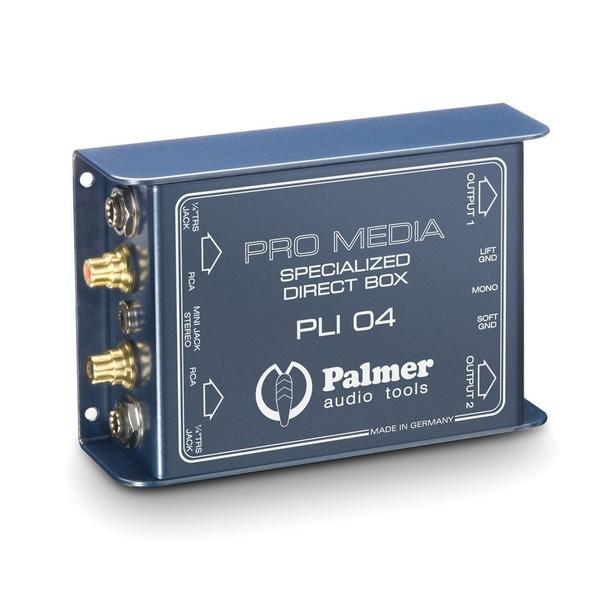 Palmer PLI 04 Pro Media DI Box, Top