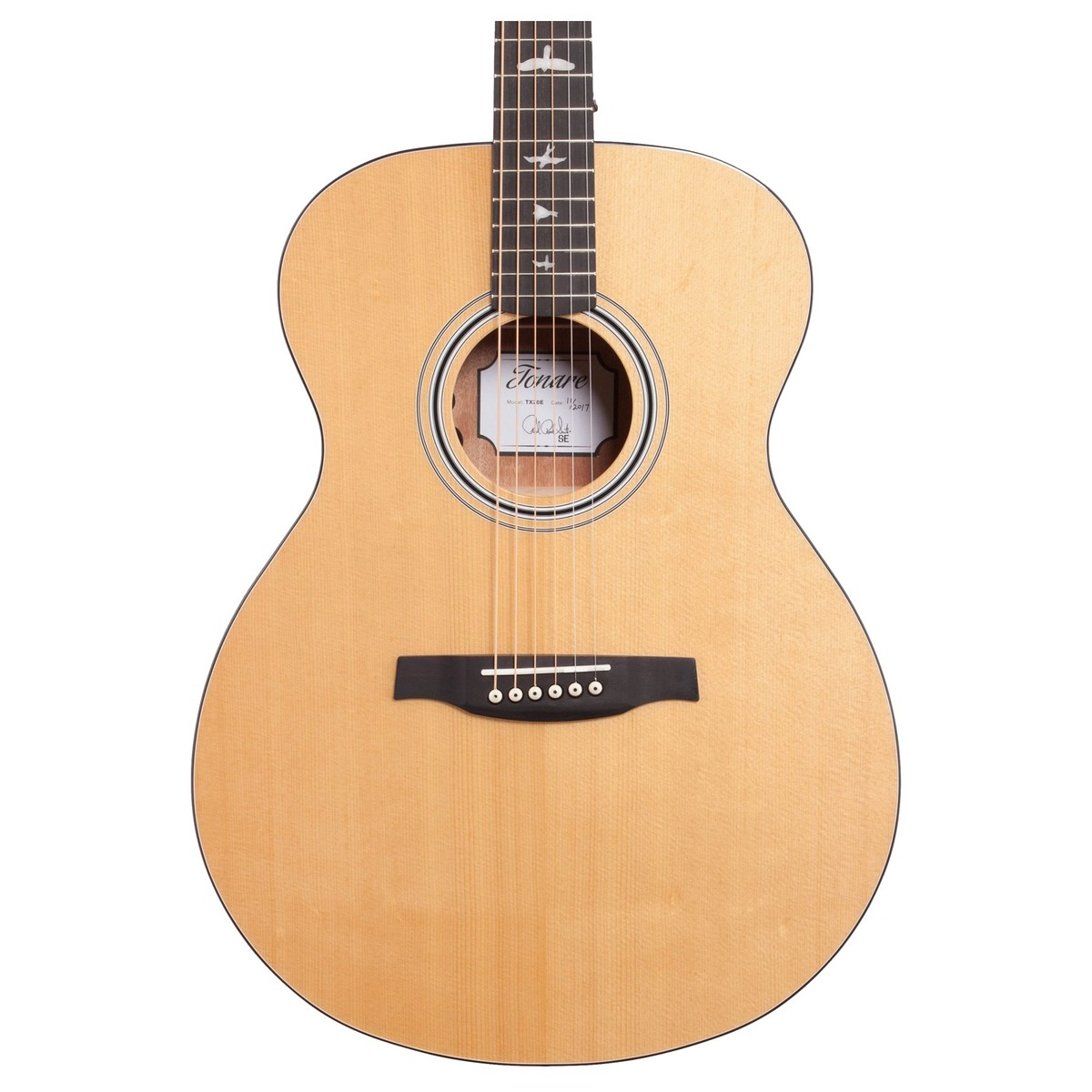 PRS SE TX20E Tonare Electro Acoustic, Natural