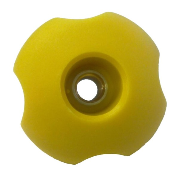 Hardcase Cymbal Case Yellow Hand Wheel