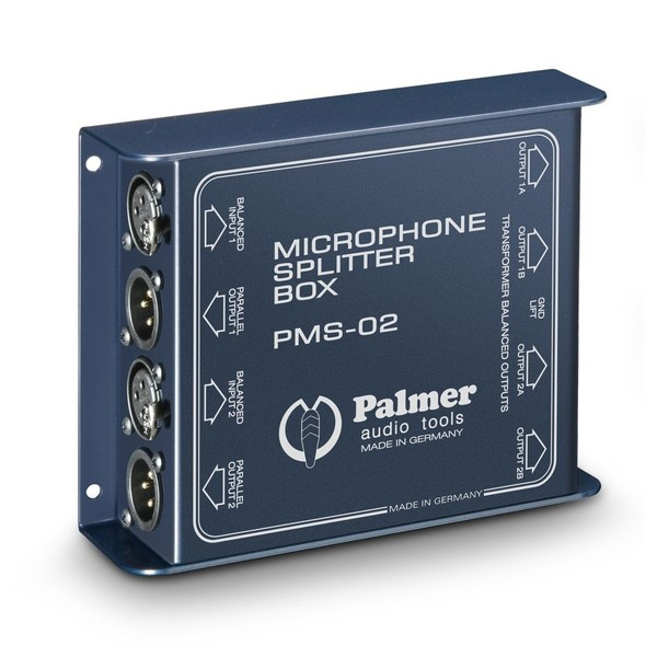 Palmer PMS 02 Microphone Splitter, Top