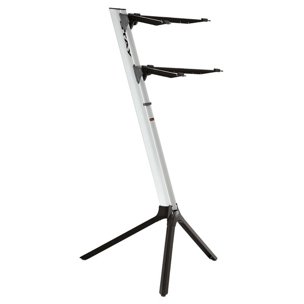 STAY Keyboard Stand SLIM, 2-Tiers, 4 Arms, Silver - Main