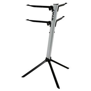 STAY Keyboard Stand SLIM, Silver - Rear