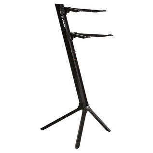 STAY Keyboard Stand SLIM, 2-Tiers, 4 Arms, Black - Main