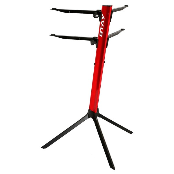 STAY Keyboard Stand SLIM, Red - Rear