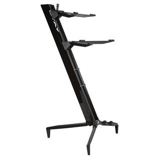 STAY Keyboard Stand TOWER, 2-Tiers, 4 Arms, Black - Main