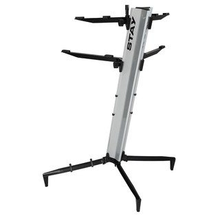 STAY Keyboard Stand TOWER, Silver - Rear