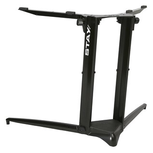 STAY Keyboard Stand PIANO, 1-Tier, 2 Arms, Black - Back