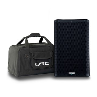 QSC K8.2 8'' Active PA Speaker with Free Tote Bag 1