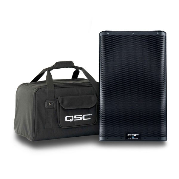 """QSC K10.2 10"""" Active PA Speaker with free Tote Bag 1"""