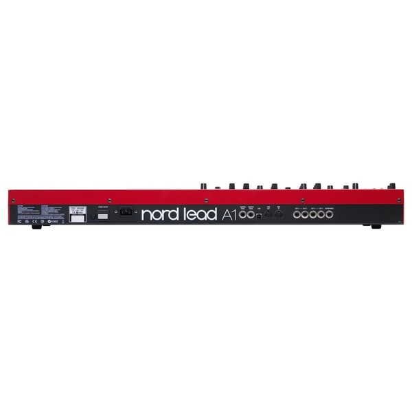 Nord Lead A1 Analogue Modelling Synthesizer - Back