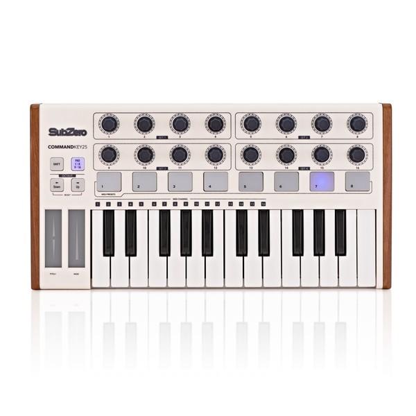 SubZero SZ-COMMANDKEY25 Universal MIDI Controller