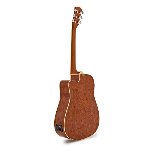 Deluxe Dreadnought Electro Acoustic Guitar, Ovangkol Body