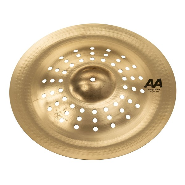 Sabian AA 19'' Holy China Cymbal, Brilliant Finish - Close Up