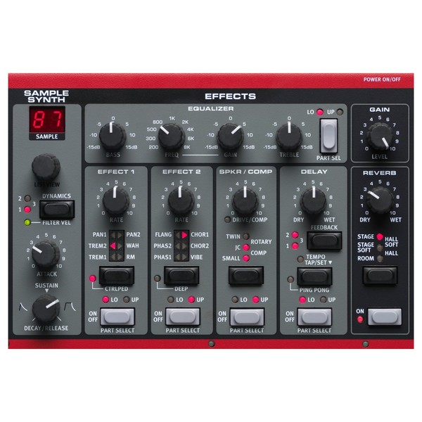 Nord Electro 5 HP 73 Weighted - Effects Section