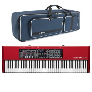 Nord Electro 5 HP 73 Weighted with Free Gear4music Deluxe Bag - Main