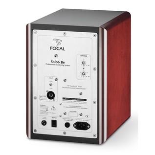Focal Solo 6 BE Active Studio Monitor Speaker (Single) - Back