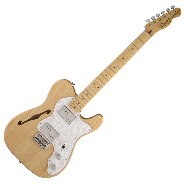 Squier by Fender Vintage Modified 72 Thinline, MN, Natural