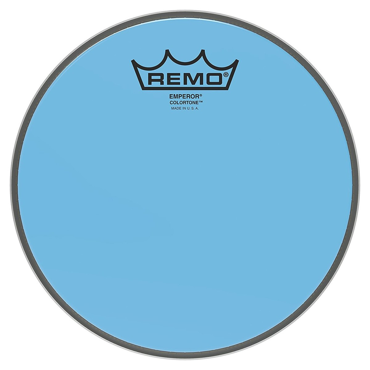 Click to view product details and reviews for Remo Emperor Colortone Blue 8 Drum Head.
