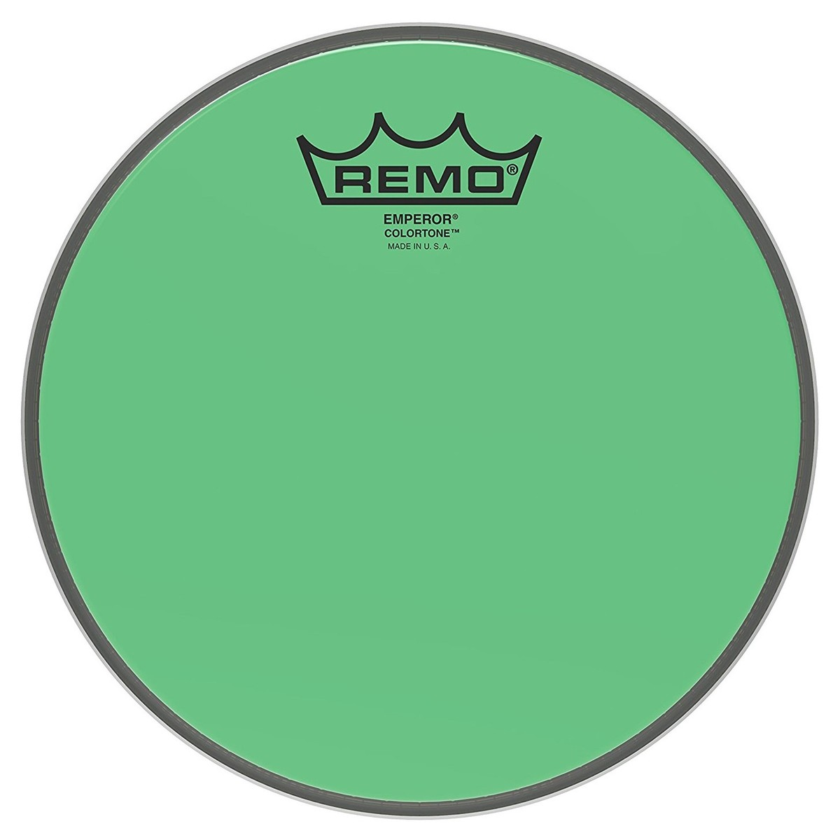 Click to view product details and reviews for Remo Emperor Colortone Green 8 Drum Head.