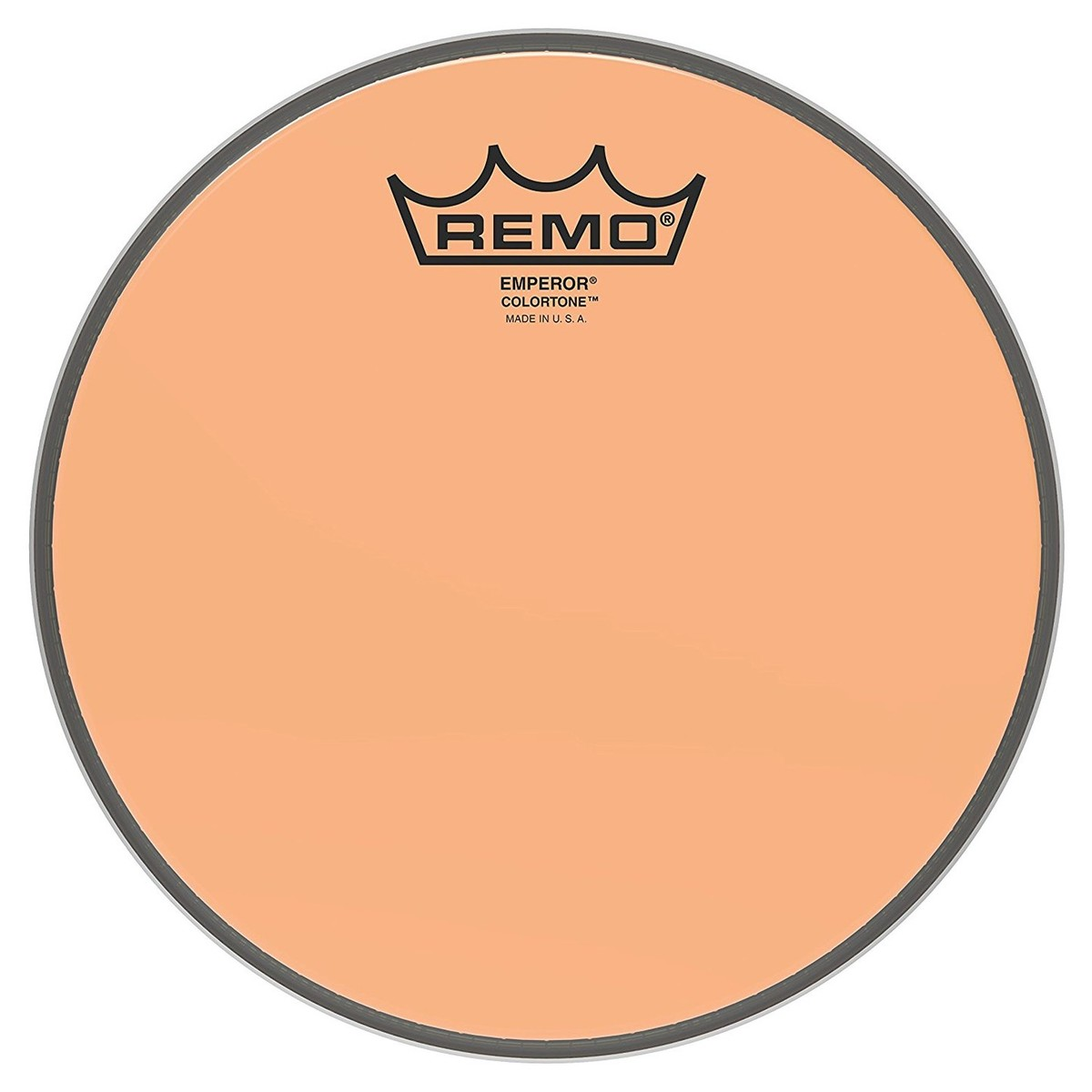 Click to view product details and reviews for Remo Emperor Colortone Orange 8 Drum Head.