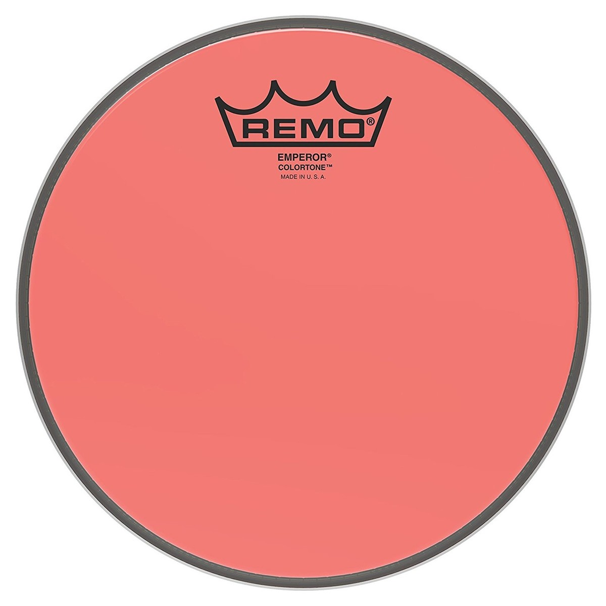 Click to view product details and reviews for Remo Emperor Colortone Red 8 Drum Head.